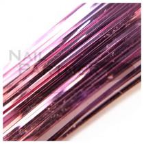 ◆SARURU 超極細絲線 粉紅 (100cm)