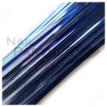 ◆SARURU 超極細絲線 藍 (100cm)