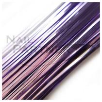 ◆SARURU 超極細絲線 紫 (100cm)