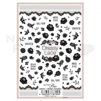 Sha-Nail 貼紙 Pro N-DL001 (Dressy Lace)