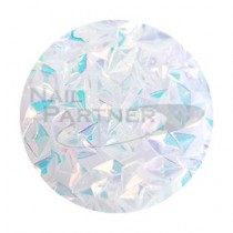 ◆SARURU 閃亮快樂亮片 立體透明極光 HG-232