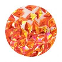 SARURU 閃亮快樂亮片 HG-236 立體紅色極光