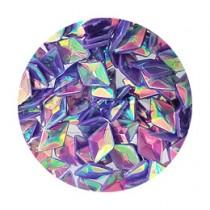 SARURU 閃亮快樂亮片 HG-241 立體紫色極光