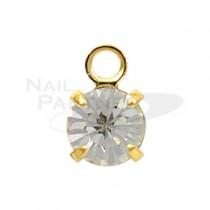 ◆PRETTY NAIL 吊飾 金 (5個) NHB-0001