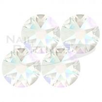 施華洛世奇 平底 水晶淺灰SS16(25個)