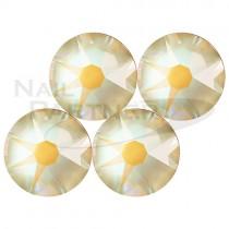 施華洛世奇 平底 水晶赭石SS12(25個)