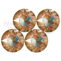 施華洛世奇 尖底 水晶卡布其諾SS29 (10粒)  #1088