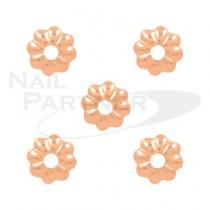 Capri 海葵3mm 玫瑰金(50個)