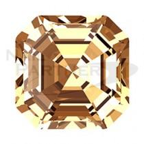 施華洛世奇 尖底 方錐 淺黃水晶 6mm (4顆)  #4480