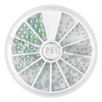 Capri 水晶石組合 06 綠色蛋白石(315個)