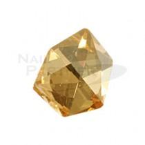 CLOU 水晶珠寶 香檳金 8.5×7mm(5個)