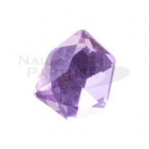 ◆CLOU 水晶珠寶 紫 8.5×7mm(5個)