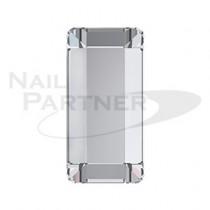 施華洛世奇 平底 長條 3.7×1.9mm 水晶(15個) #2510