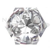 施華洛世奇 尖底 六角型萬花筒 水晶(4個) #4499