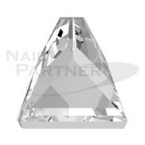 施華洛世奇 平底 #2419 方尖頭 4mm 水晶(4粒)