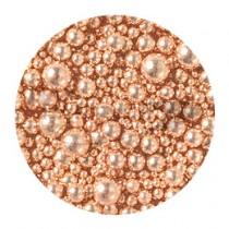 NOVEL 香檳粉紅電鍍珠組