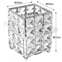 Tiara 水晶筆桶 銀