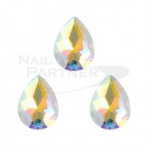 CLOU 美甲珠寶 閃亮水滴 極光 8×6mm(3個)