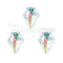 CLOU 美甲珠寶 閃亮鑽石 極光 8×6mm(3個)