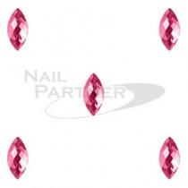 CLOU 美甲珠寶 晶片葉 玫瑰 5×2mm(20個)