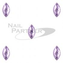 CLOU 美甲珠寶 晶片葉 紫 5×2mm(20個)