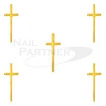 CLOU 十字架飾品 金 10×3mm(20個)