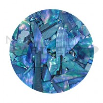 Capri 細切貝殼 #7 蔚藍