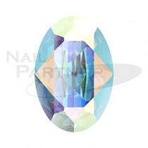 施華洛世奇 尖底 橢圓 4×2.7mm 水晶極光(6個)#4120