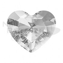 施華洛世奇 尖底 迷你愛心 3.6×3.1mm 水晶(6個)#4883