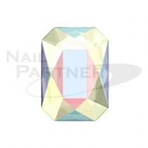 施華洛世奇 平底 長方 8×5.5mm 水晶極光(4個) #2602