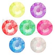 施華洛世奇 平底 螢光系列SS16(7色×5個)