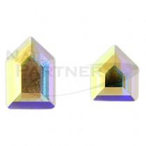 施華洛世奇 平底 五角系列 水晶極光(2款×3個) #2774/#2775