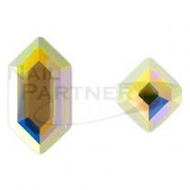 施華洛世奇 平底 六角系列 水晶極光(2款×3個) #2776/#2777