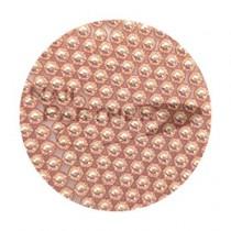 SARURU 電鍍珠 玫瑰金 0.6mm(1g) #8211