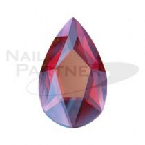 施華洛世奇 平底 梨形 8×5mm 猩紅微光(4個) #2303
