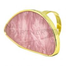 KiraNail 戒指調色盤 月半 粉紅