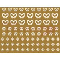 CLOU 美甲貼紙 蕾絲系列-70春日蕾絲W