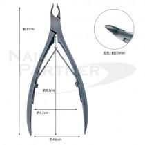 內海 IX.I.A B型甘皮鉗 黑色3.5mm(預購)