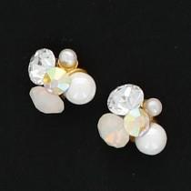 BEAUTY NAILER 閃礫鑽石 Round S KIRA-5 2個(蛋白石)