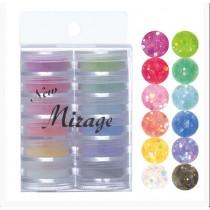 Mirage 水晶粉 3.5g 12色套組 N/KS.SE