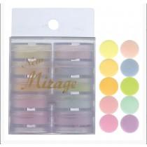 Mirage 水晶粉 3.5g 10色套組 N/WBN