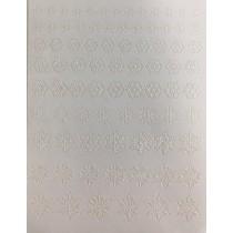 ◆Rococo 洛可可貼紙mini 雪花(3片入)